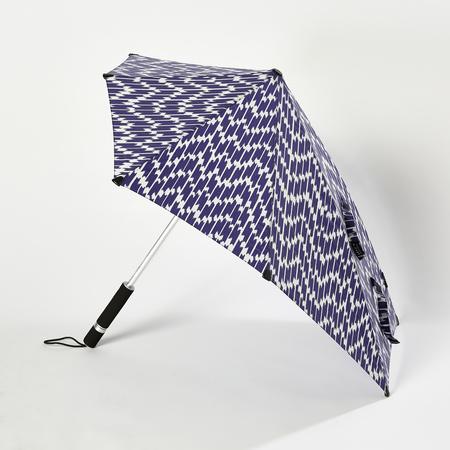 Senz Storm Umbrella Stick - Ikat Blue