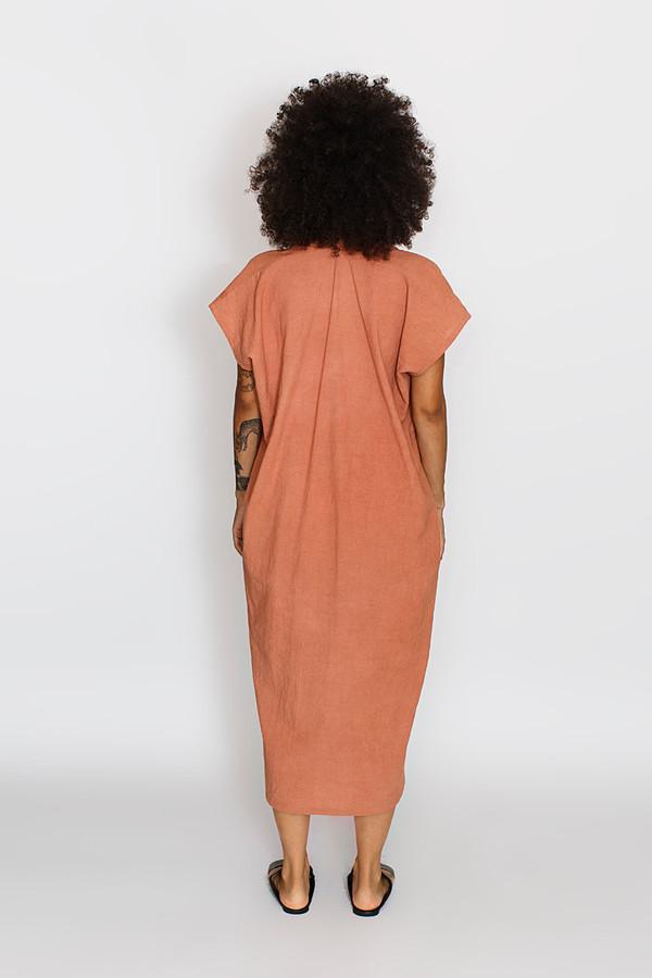 Miranda Bennett Everyday Dress, Oversized, Cotton in Dakota