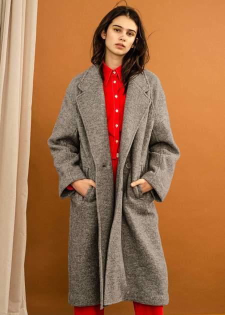 Penny Sage Tezeta Coat - Grey
