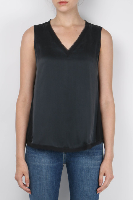 GOSILK Go Mish-Mesh Sleeveless Top