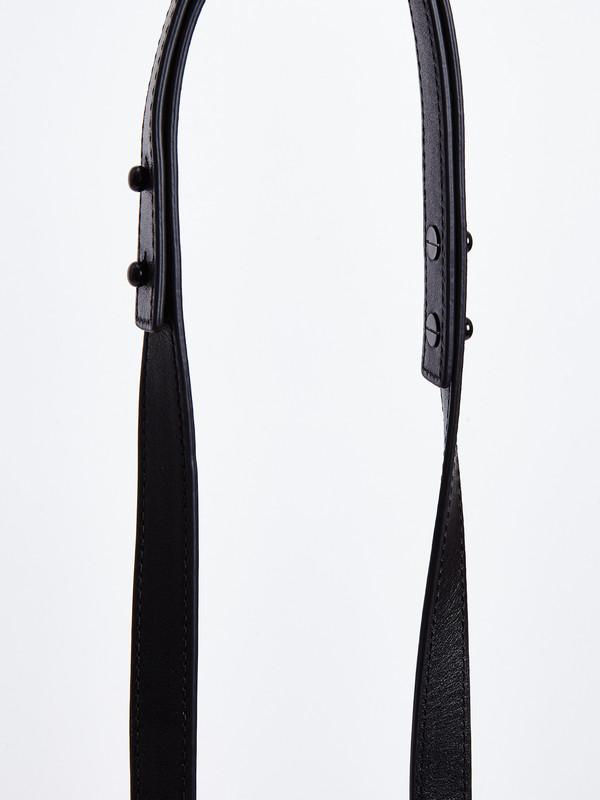 Loeffler Randall MINI INDUSTRY BAG / BLACK