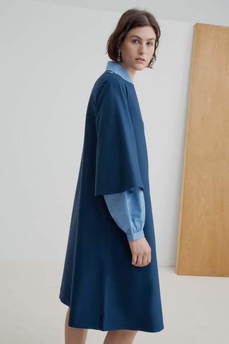 Kowtow Symmetry Dress - Navy