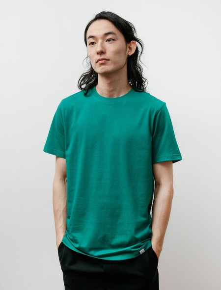 Norse Projects Niels Standard Short Sleeve T-Shirt - Sporting Green