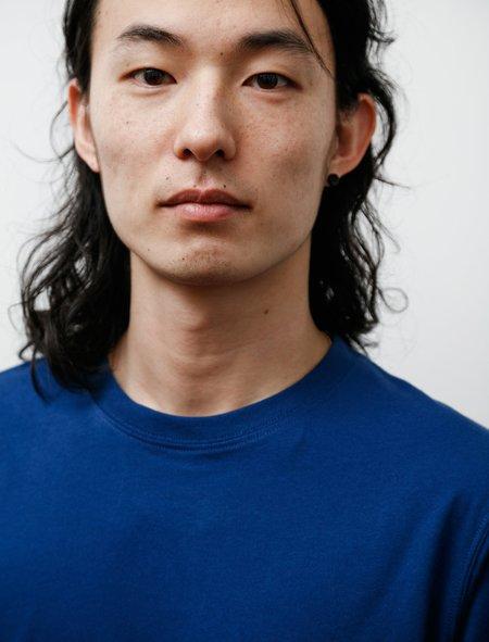 Norse Projects Niels Standard Short Sleeve T-Shirt - Twilight Blue