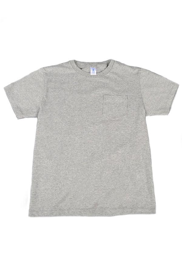 Velva Sheen - Crew Neck Pocket T-Shirt 2-Pack in Heather Grey