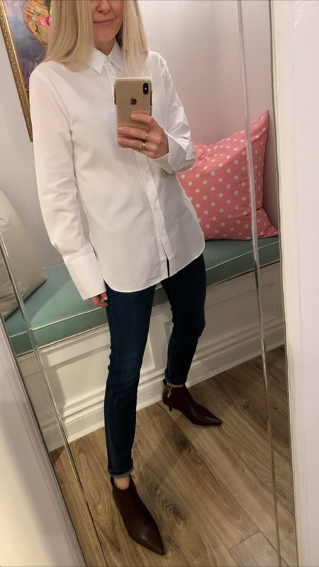 Joseph Joe Poplin Shirt - White