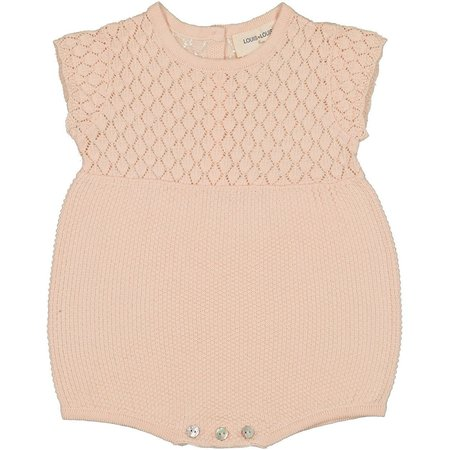 kids louis louise suzie baby overall - light pink