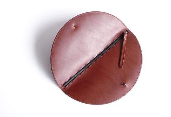 Circle Fold Clutch