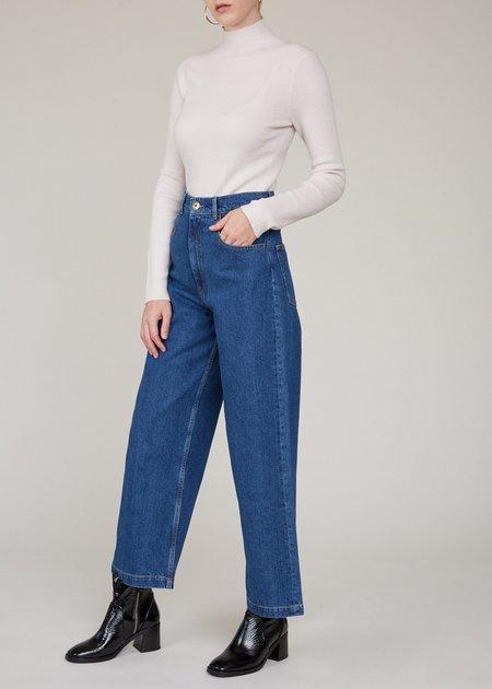 NANUSHKA Marfa vintage cut jeans - indigo