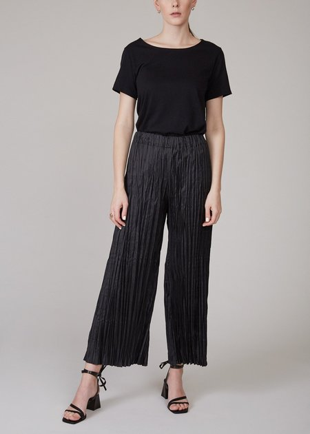 SHAINA MOTE Harlo pants - black ruffle