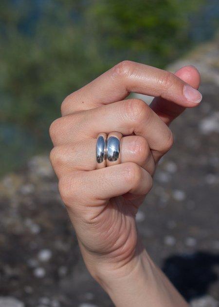 SOPHIE BUHAI Bagle Rings - sterling silver