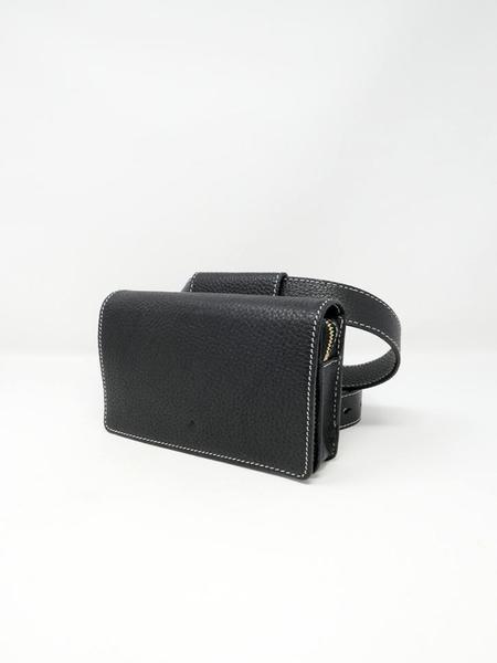 Ashya Cedar Mini Belt Bag - Onyx