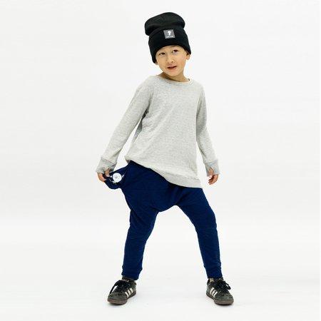 Kids Unisex Bash+Sass Hammer Quilted Pants - Deep Blue
