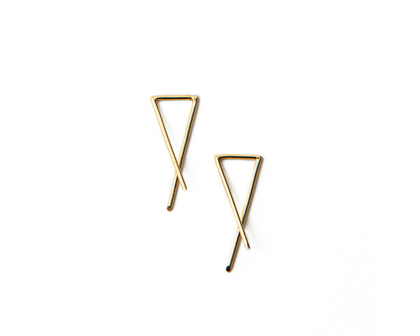 MAU JEWELRY Slip-On Earrings Small