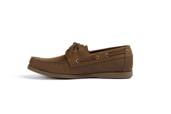 Nisolo Pescador Boat Shoe Oak