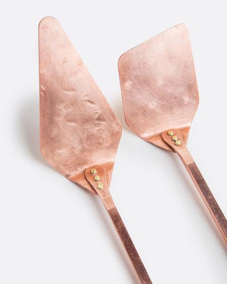 Love Adorned Solid Copper Serving Set