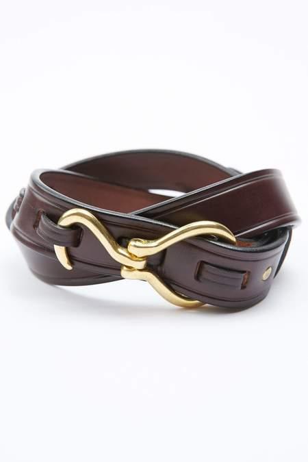 Tory Leather Hoof Pick Belt - Havana