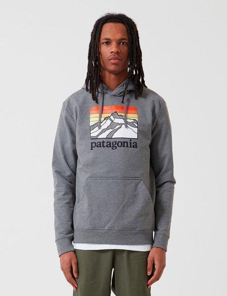 Patagonia Line Logo Ridge Uprisal Hoody - Gravel Heather