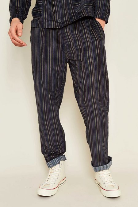 NATIVE YOUTH ANTWERP TROUSER - Navy