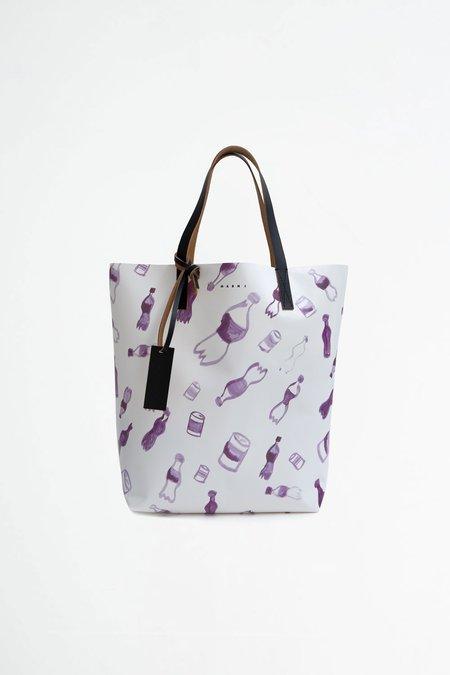 Marni Shopping bag - waste print