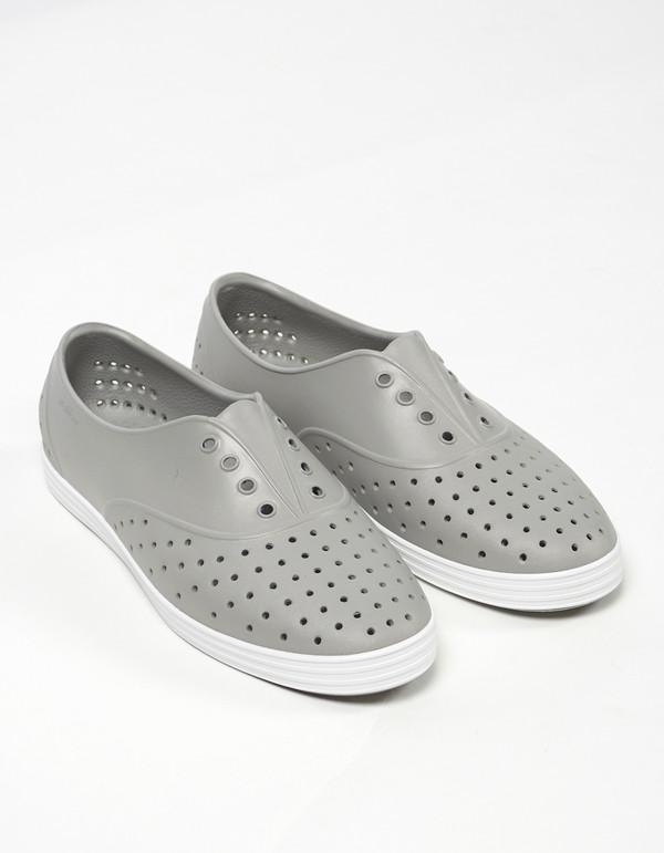 Native Shoes Native Jericho Pigeon Grey Shell White