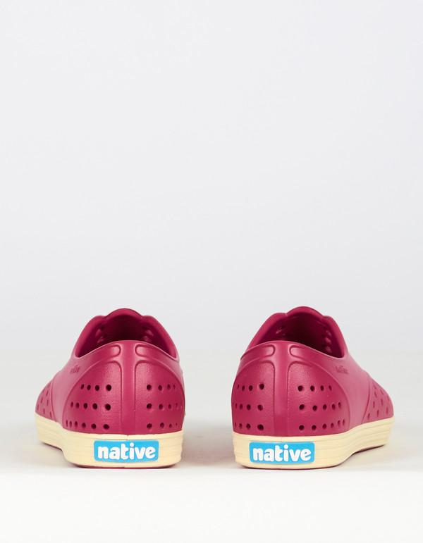 Native Shoes Native Jericho Raspberry Red Bone White