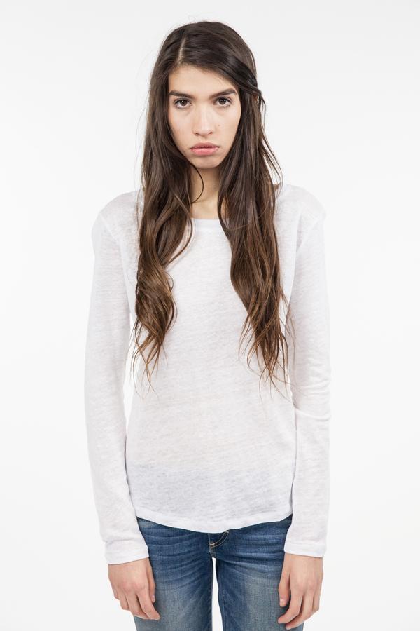 Just Female Journey Blouse - White