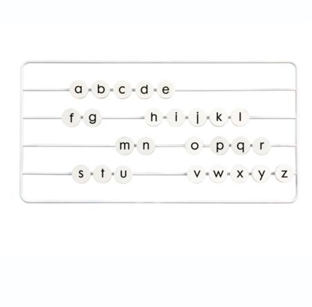 KIDS BUDTZ BENDIX Type Tower Frame & Alphabet Set