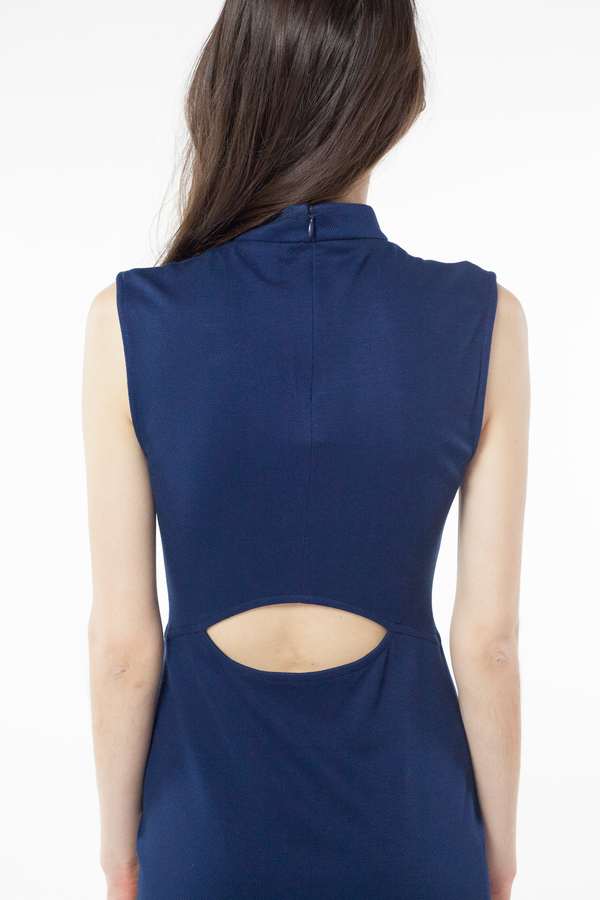 Amity Dress - Dark Blue