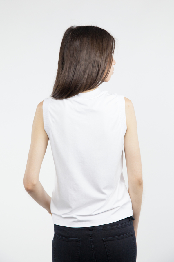 Just Female Lincoln Tank - White