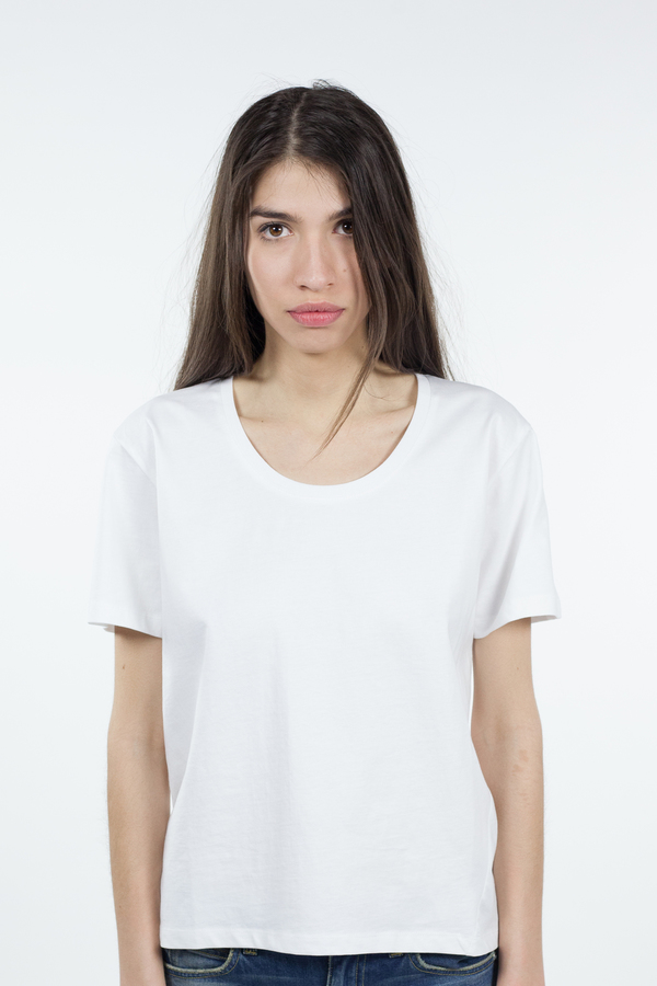 Kowtow Building Block Scoop Tee - White