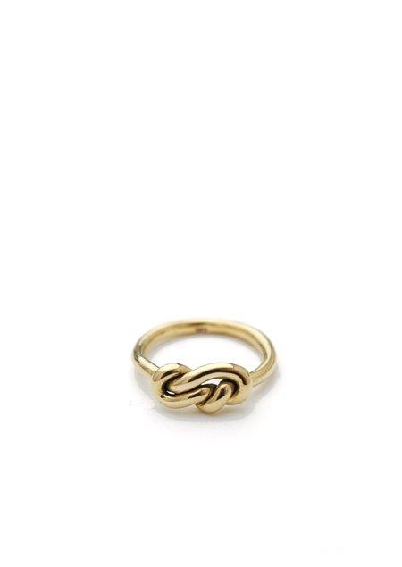 Tiro Tiro Knot Ring - 14k gold