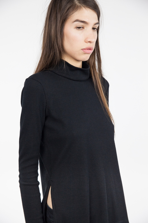 Bec & Bridge Fawcett Long Sleeve Top - Black