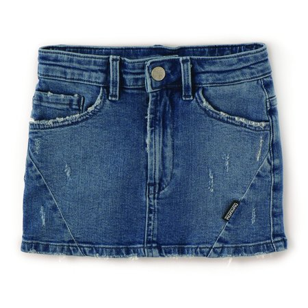 Kids nununu mini skirt - denim