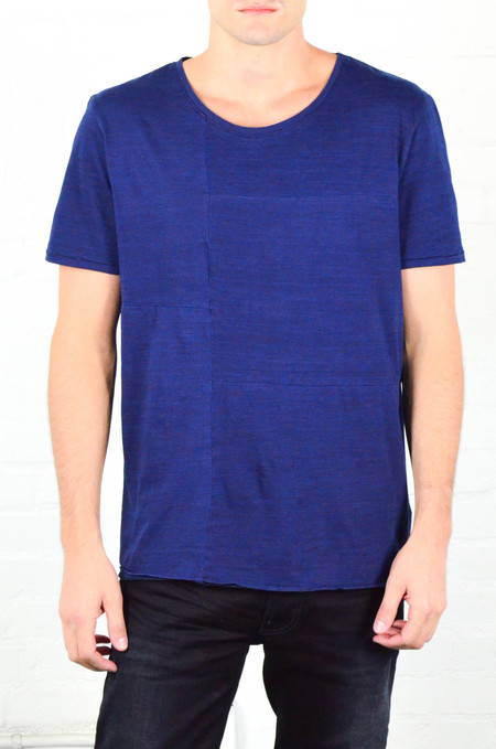 Men's Nudie Indigo Patch Tee