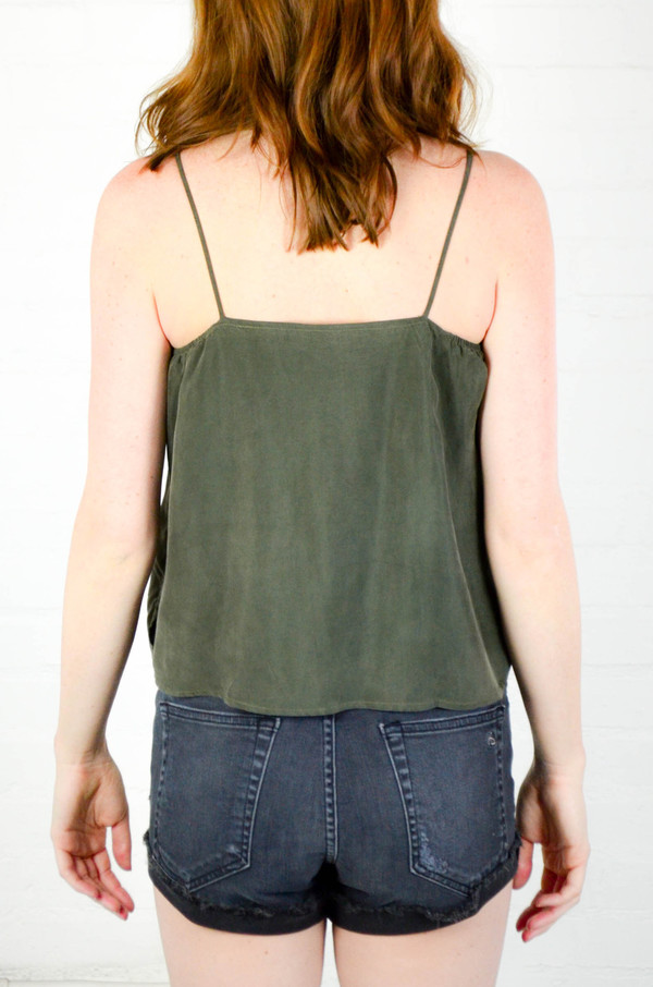 Objects Without Meaning Olive Twist Lounge Tank