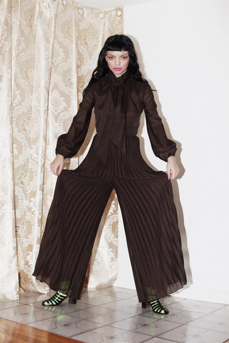 [PRE-LOVED] One-of-a-kind Jumpsuit - Brown