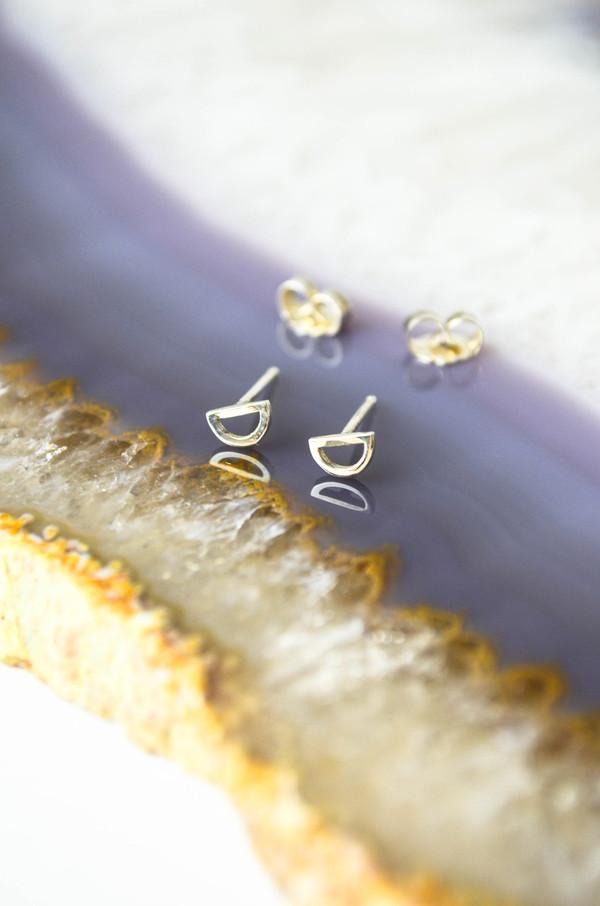 Still House Silver Nali Earrings