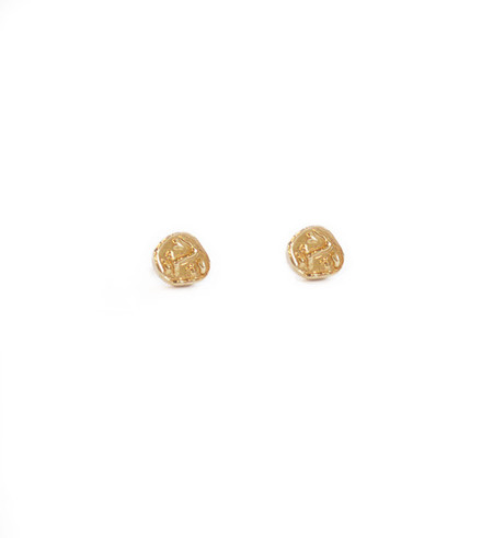 Dream Collective Gold Yves Klein Studs
