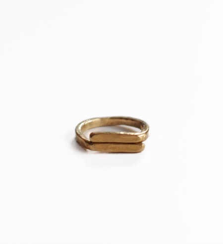 Fay Andrada Brass Rele Ring