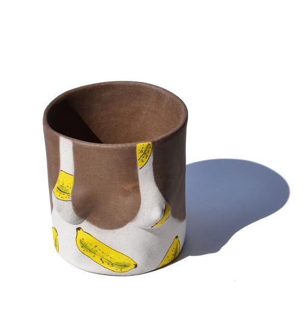 Group Partner Banana Girl Pot Dark