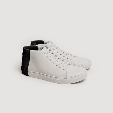 THEY Two-Tone Mids - Off White/Black