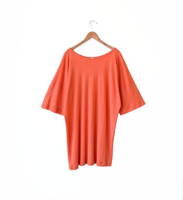 Ilana Kohn Persimmon Jersey Tee Dress