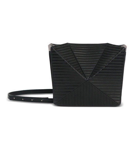 IMAGO-A Black No. 13 Prism Stripe Bag