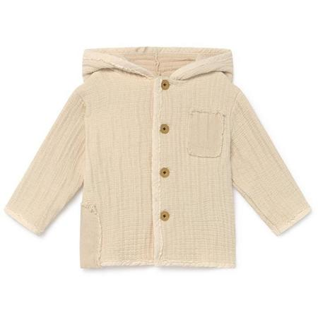 kids little creative factory baby quilted jacket - cream