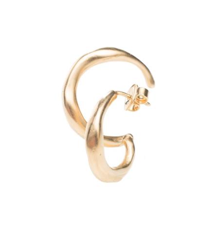 Hana kim Bold left Ear Piece - gold