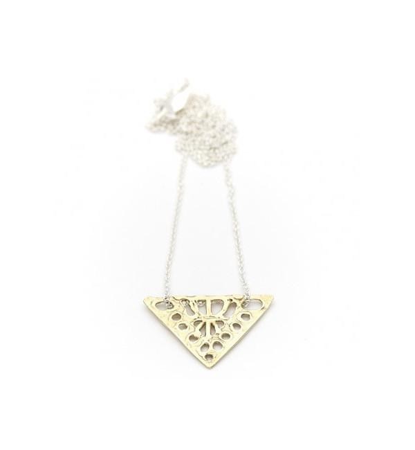 Odette New York Odette Silver & Brass Dea Necklace