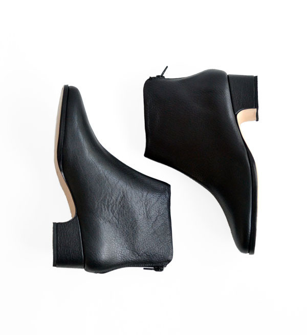 Rachel Comey Black Floater Typer Boot
