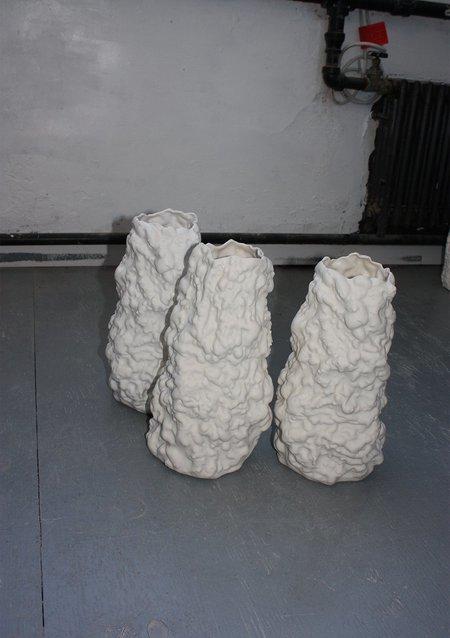 HALF-WET Growth Vase - white