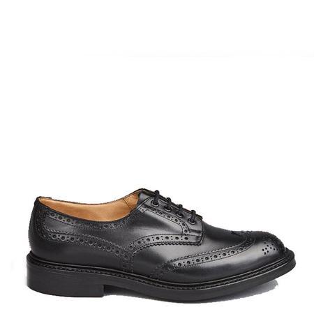 Tricker's Box Calf Bourton Derby Shoe - Black